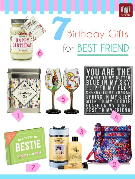 7 Best Friend Birthday Gifts  Vivid's