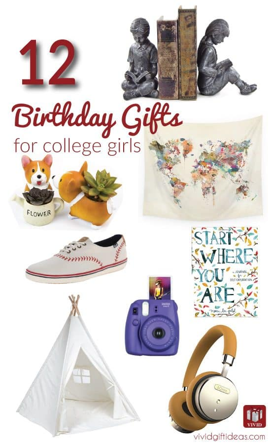 College Student Birthday Gift Ideas For Her S
