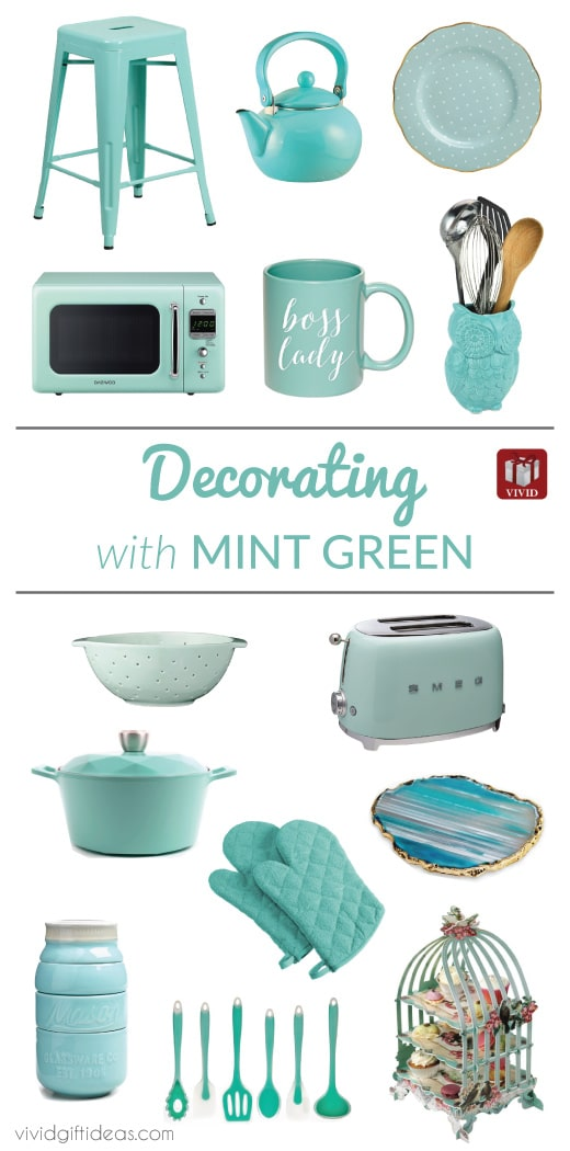 green kitchen decor tiles flooring mint accessories and decoration x 15 ideas vivid vintage home decorating tips
