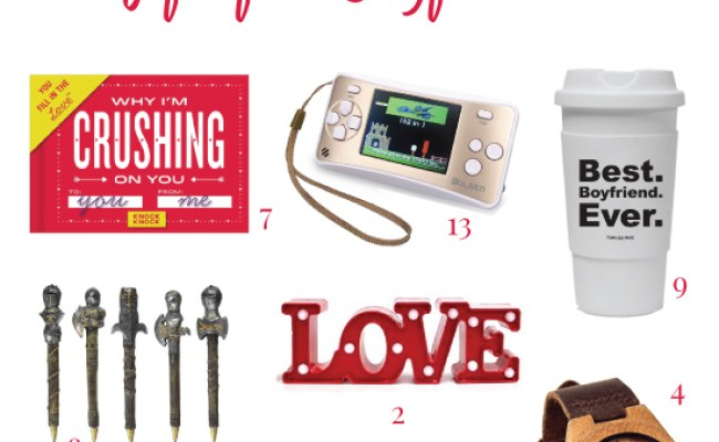 16 Best Valentines Day Gifts For Teen Boyfriend