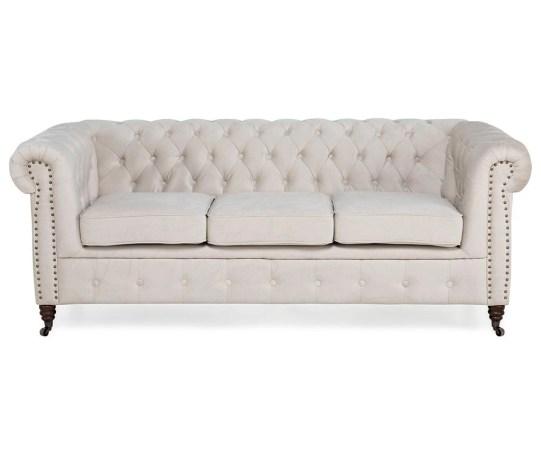 Canapea 3 locuri Chesterfield Beige