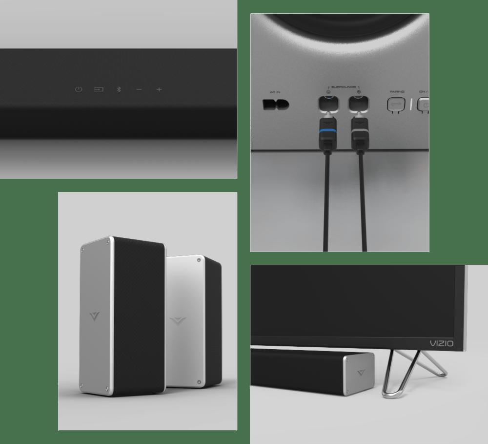 medium resolution of vizio 2017 36 5 1 vizio smartcast sound bar system sb3651 e6 vizio rh vizio com diagram vizio sound bar room 7 1 surround sound wiring diagram