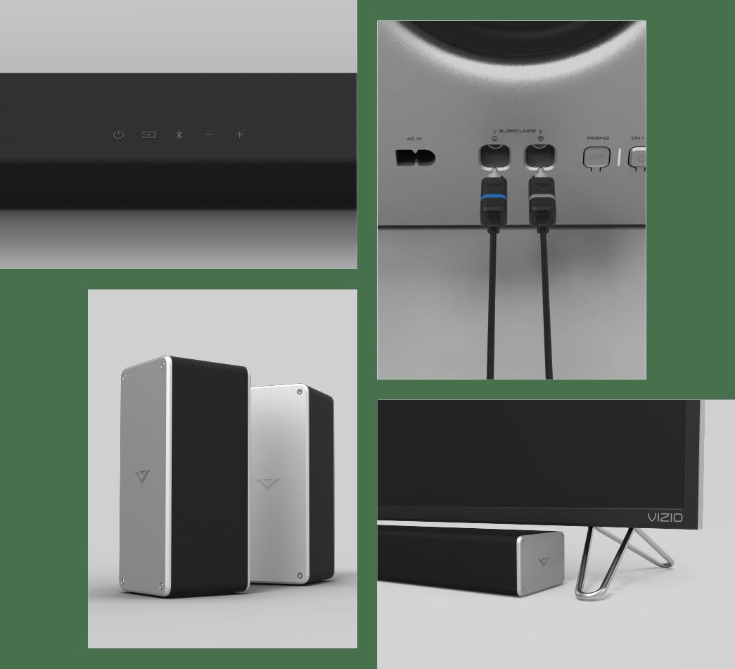 hight resolution of vizio 2017 36 5 1 vizio smartcast sound bar system sb3651 e6 vizio rh vizio com diagram vizio sound bar room 7 1 surround sound wiring diagram