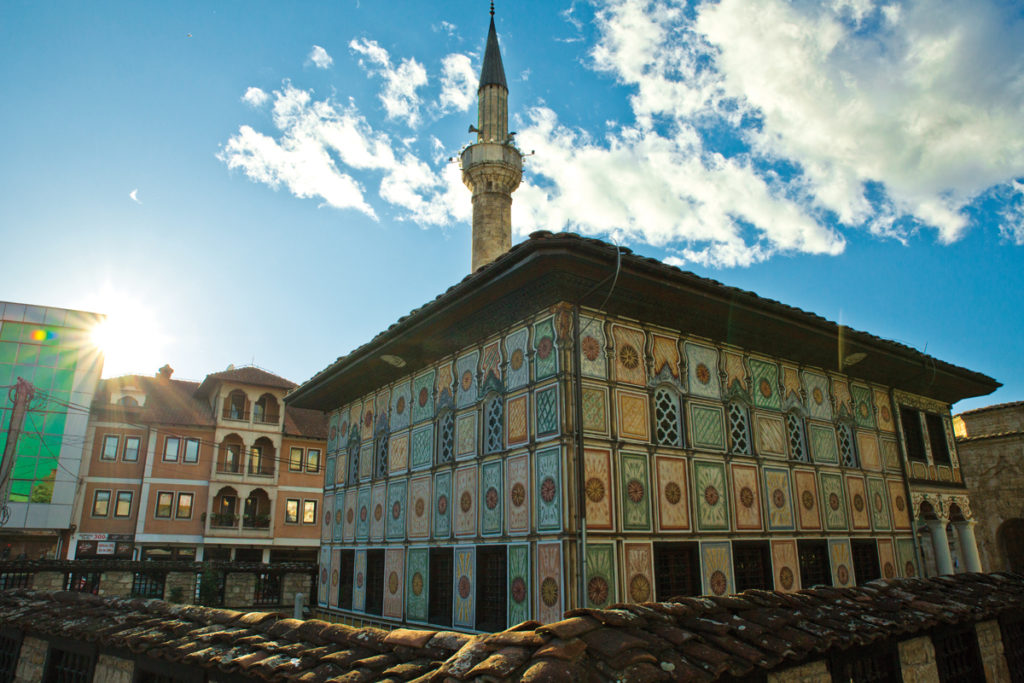 Painted Mosque Tetovo