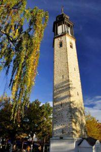 The clock-tower in Prilep's Bazaar