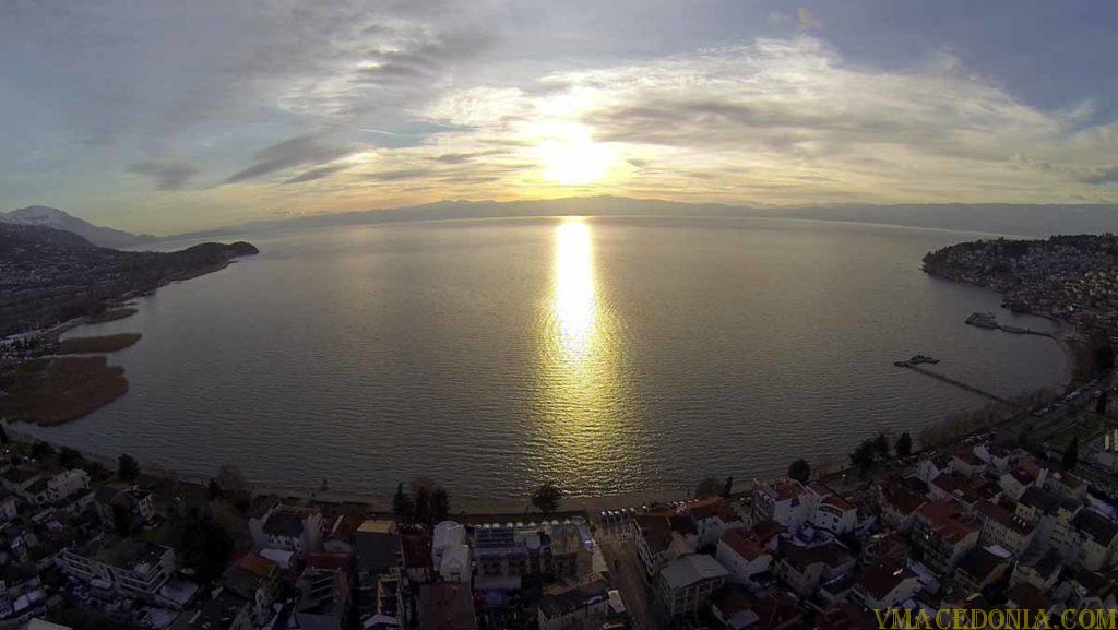 Lake Ohrid, Macedonia.