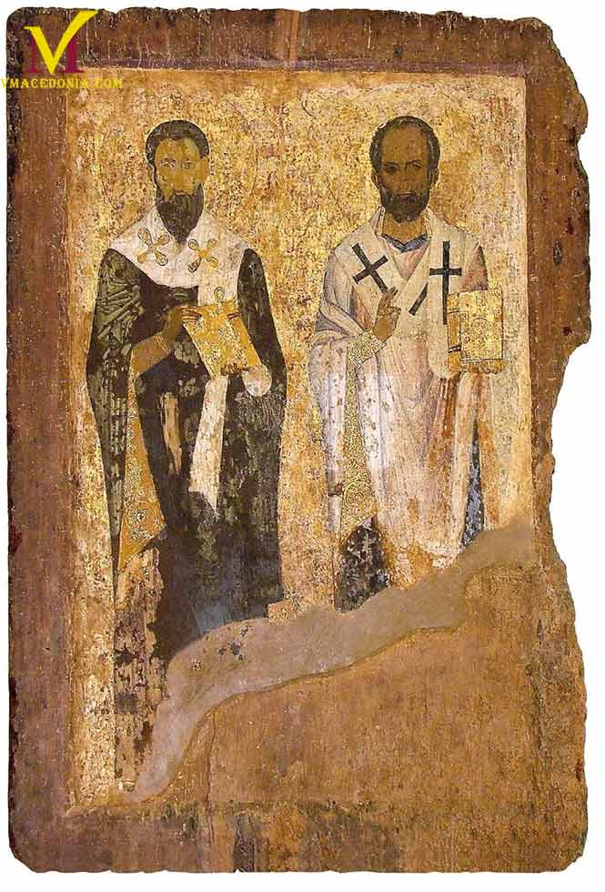 St. Basil the Great and St. Nicholas of Myra