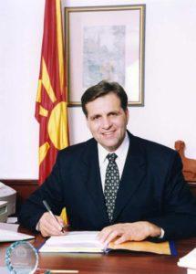 President Boris Trajkovski