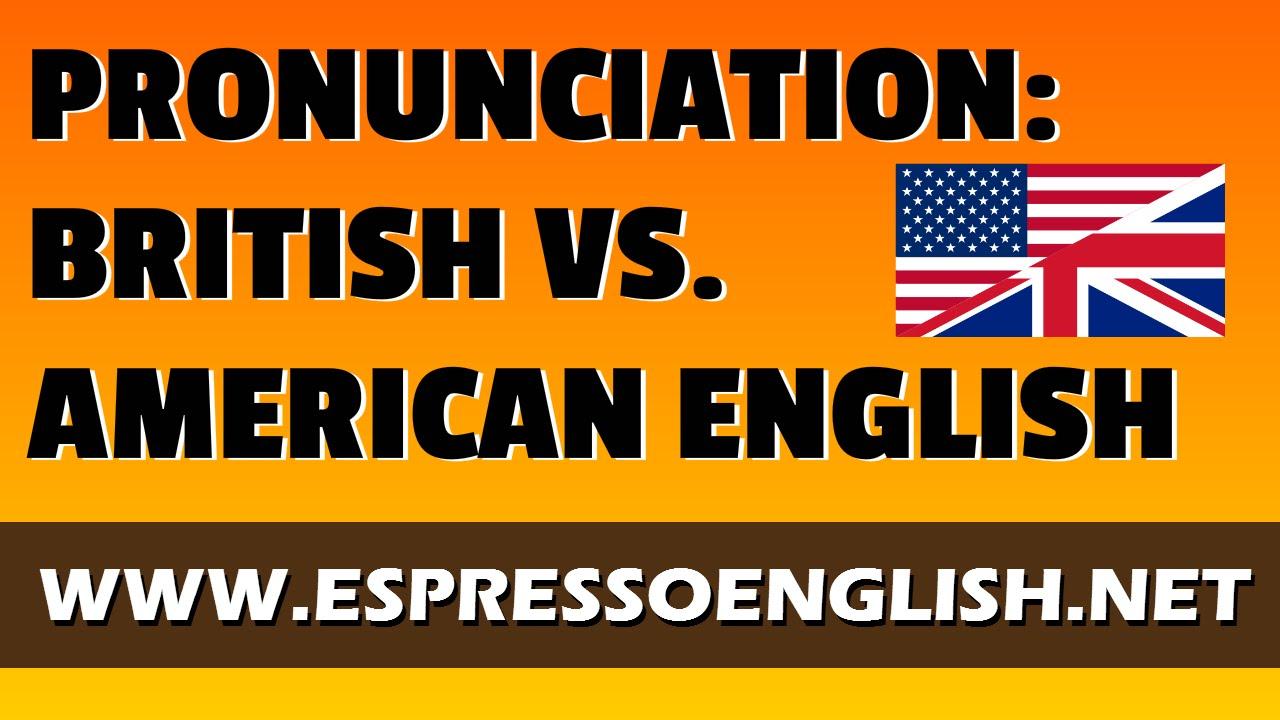 【口說技巧】英式英文和美式英文的發音有什麼不同呢? British English vs. American English: Pronunciation - VoiceTube《看 ...