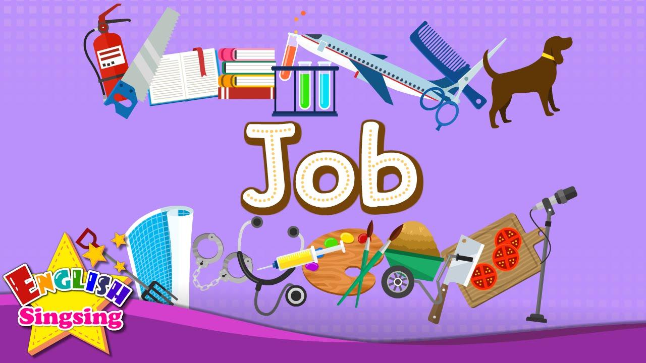 【兒童美語】和小朋友學各種職業的英文吧!(Kids vocabulary - Job - Let's learn jobs - Learn English for kids - English ...