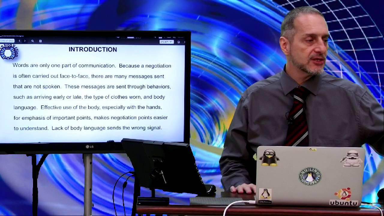 商業談判 (Negotiation Body Language Introduction Part 8) - VoiceTube《看影片學英語》