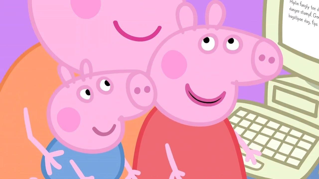粉紅豬小妹 (Peppa Pig Season 1 Episode 7 - Mummy Pig at Work - Cartoons for Children) - VoiceTube《看影片學英語》