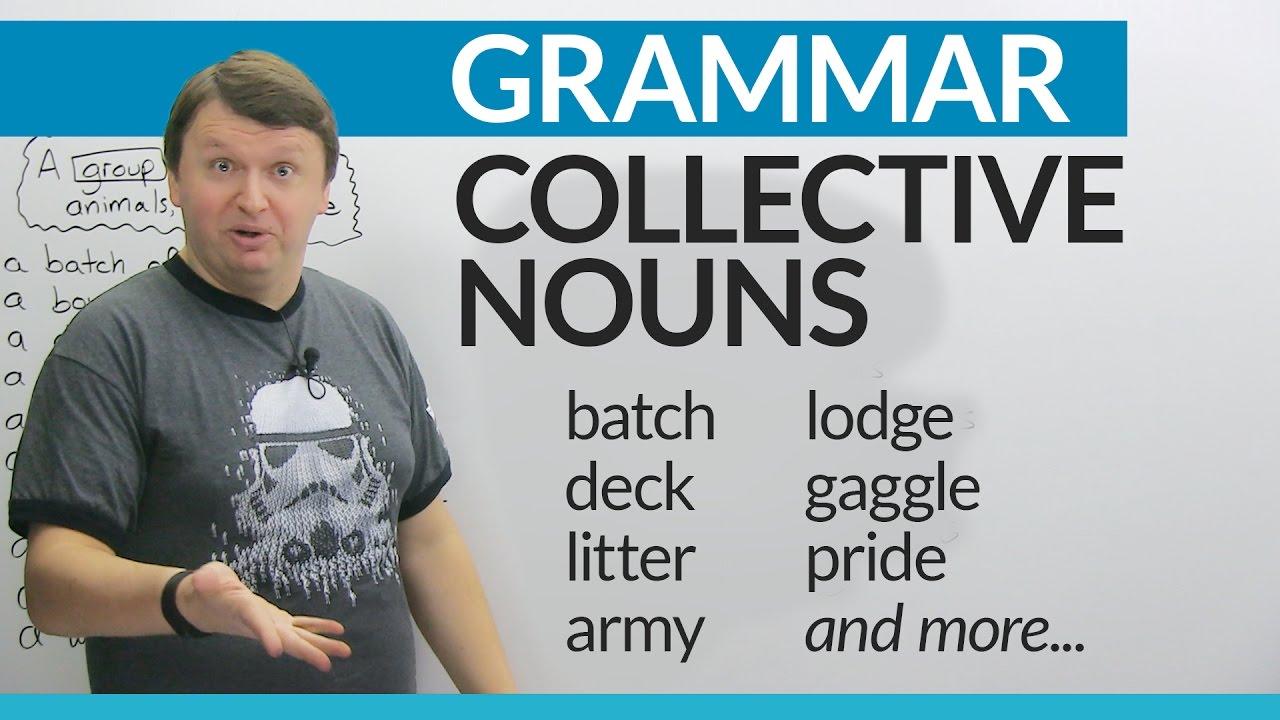 英文集體名詞:如何談論群眾和事物 (Collective Nouns in English: How to talk about groups of people and things) - VoiceTube《看 ...