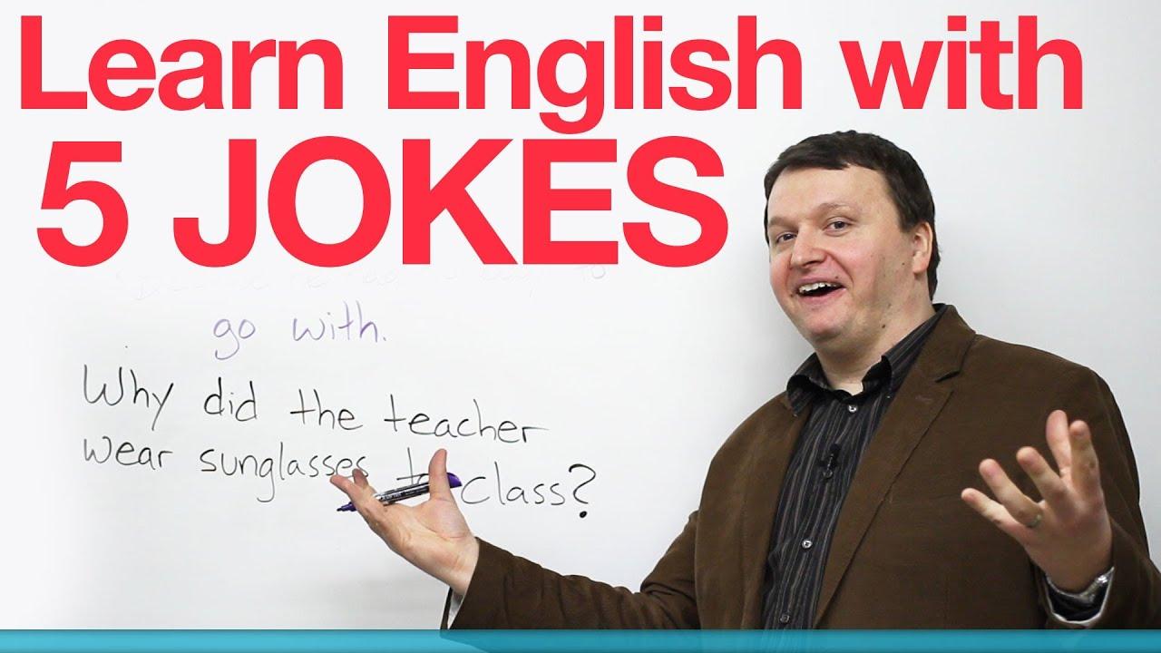 用笑話學英文 (Learn English with 5 Jokes) - VoiceTube《看影片學英語》