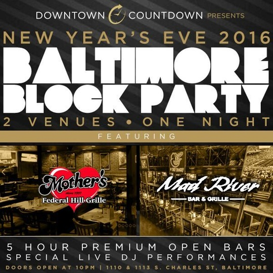 baltimore block party downtown