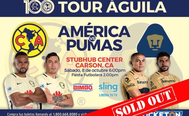 Boletos Para Club America Vs Pumas En Los Angeles