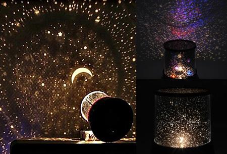 Sterrenhemel projectie lamp