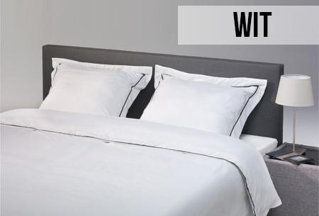 Hotel Home Contrast dekbedovertrek in 5 kleuren en 3 maten