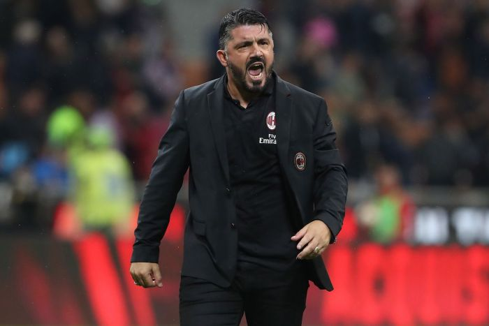 Image result for milan vs dudelange photos getty images