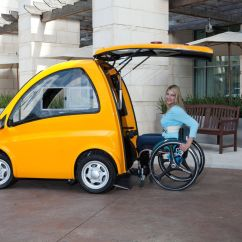 Yellow Wheelchair Hanging Garden Chairs Australia Kenguru Is A Tiny Electric Hatchback For Users The Verge