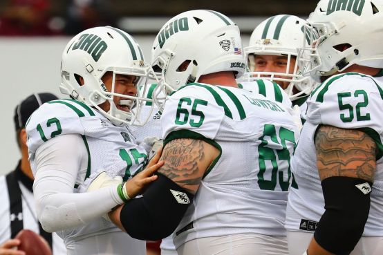 Image result for Akron Zips vs. Ohio Bobcats