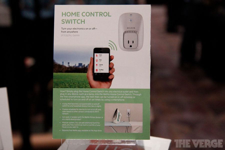Belkin Announces Availability Of Wemo Light Switch Business Wire