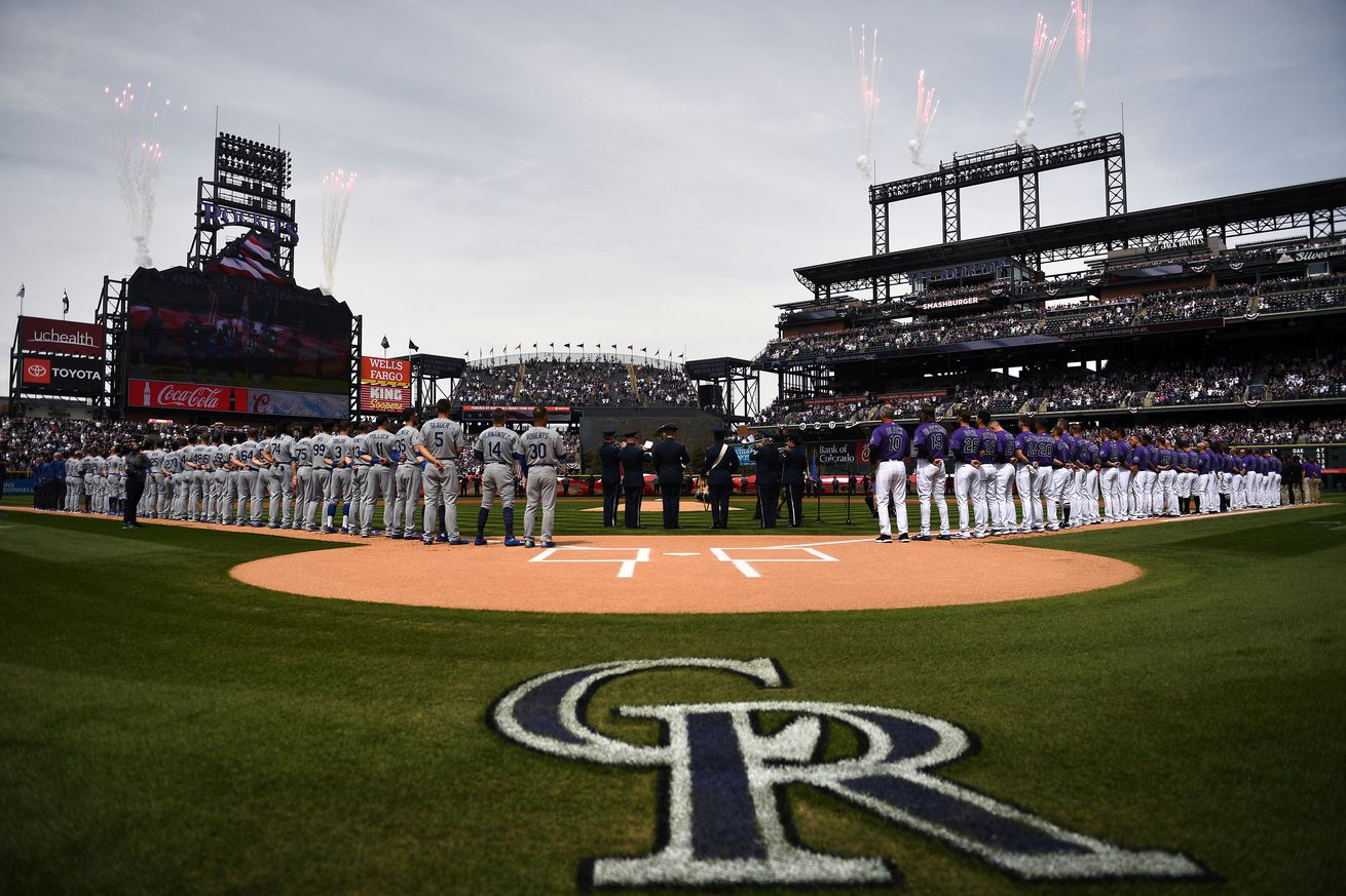 ROCKIES OPENING DAY