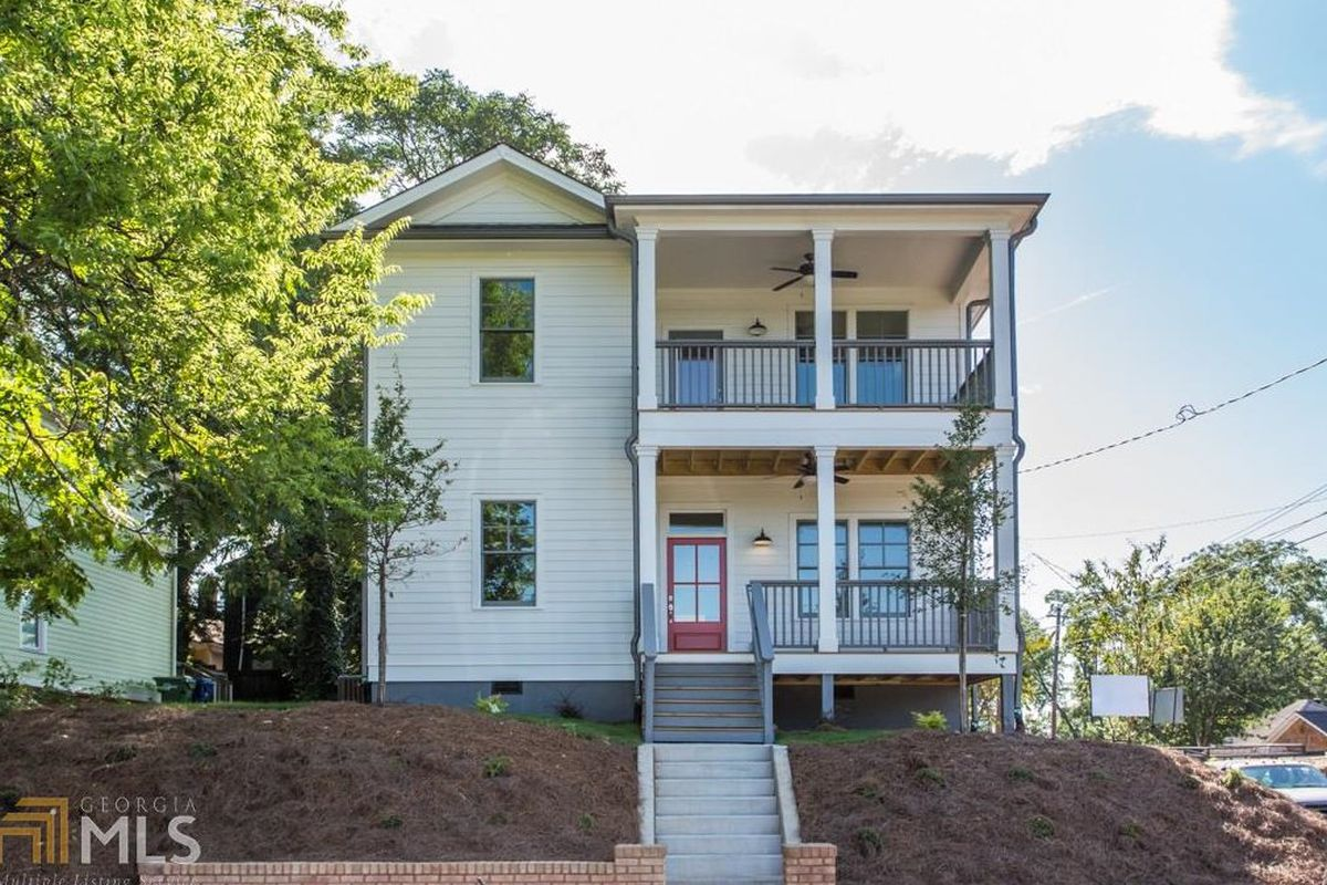 Calling For $575K, Grant Park New-build Brims With Porches
