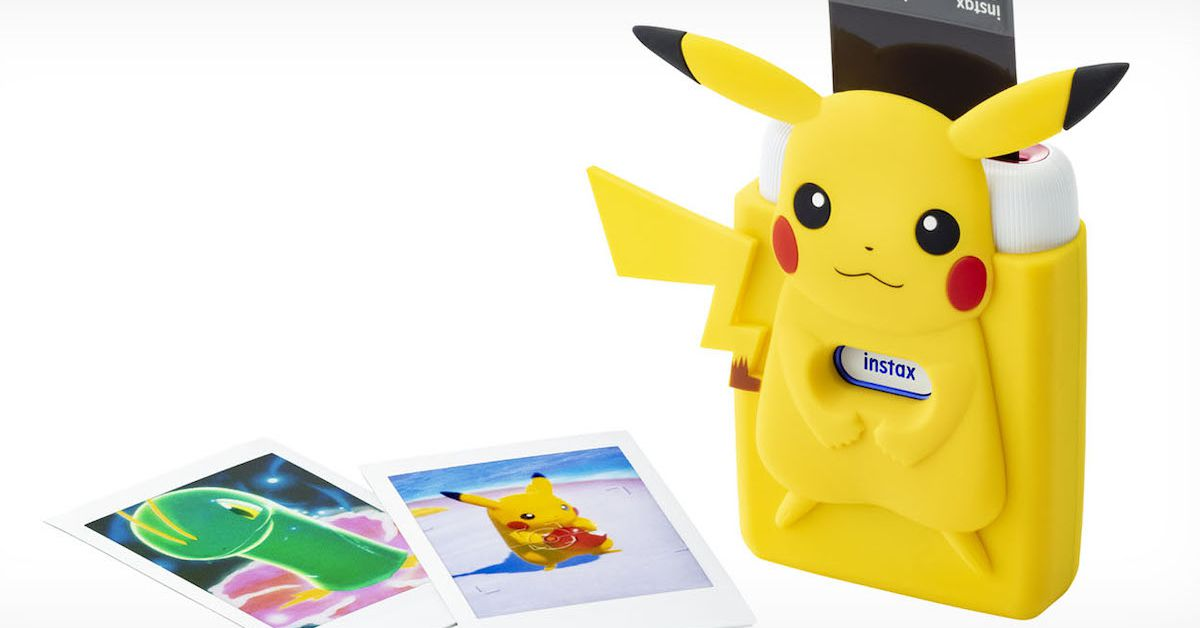 Fujifilm is releasing a Nintendo-themed Instax printer