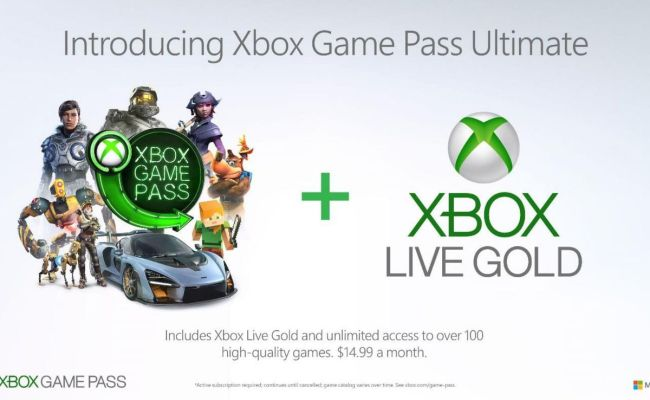Xbox Game Pass Ultimate Xbox Live And Xbox Game Pass For