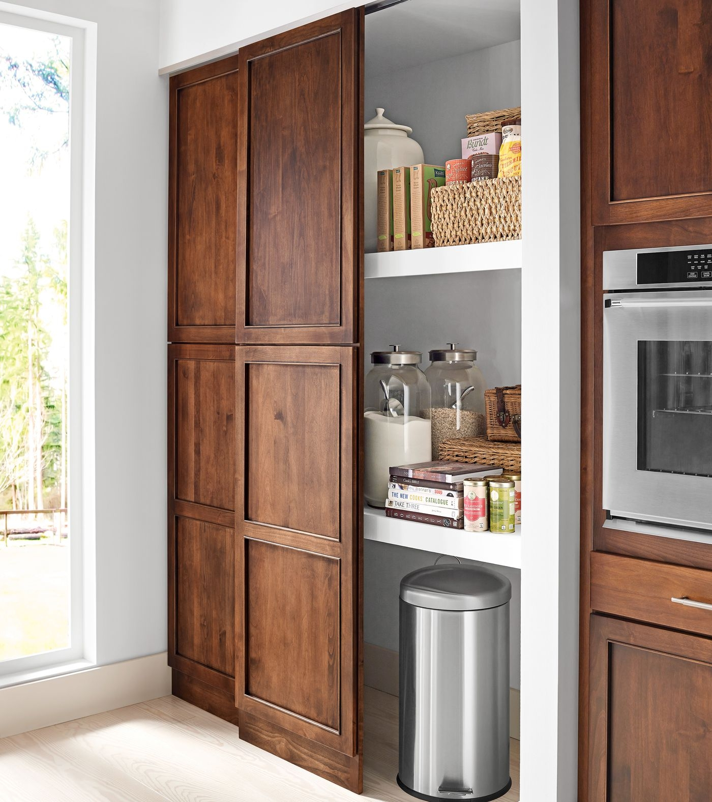 Read This Before You Put In A Pantry This Old House | Small Kitchen Design Under Stairs | Stair Storage | Dining Room | Basement Kitchenette | Space Saving | Small Spaces