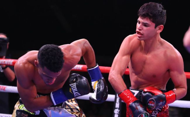 Ryan Garcia At Odds To Some Degree With Golden Boy Bad