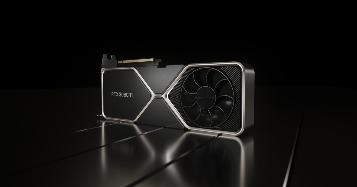 Nvidia GeForce RTX 3080 Ti: launching June 3rd for ,199