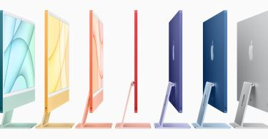 Apple announces thinner iMac with M1 chip and bright colors