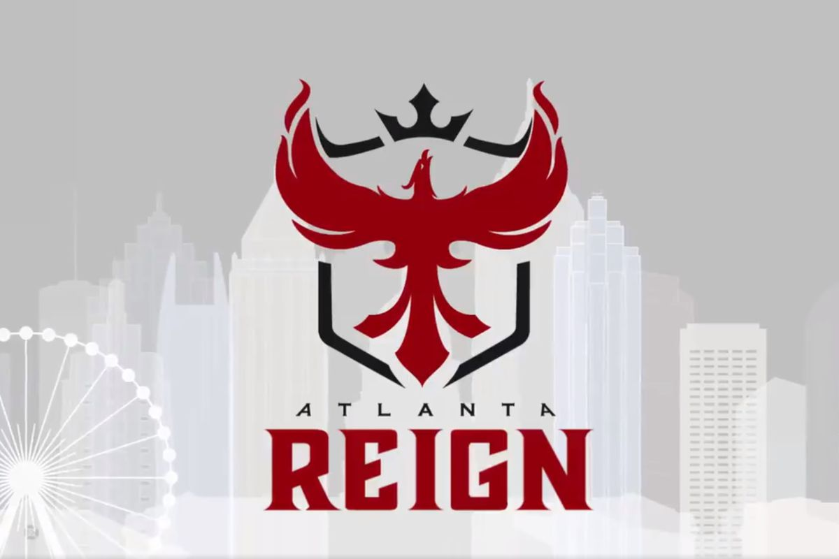 First Iphone Wallpaper For Iphone X The Atlanta Reign Unveil Their Overwatch League Branding