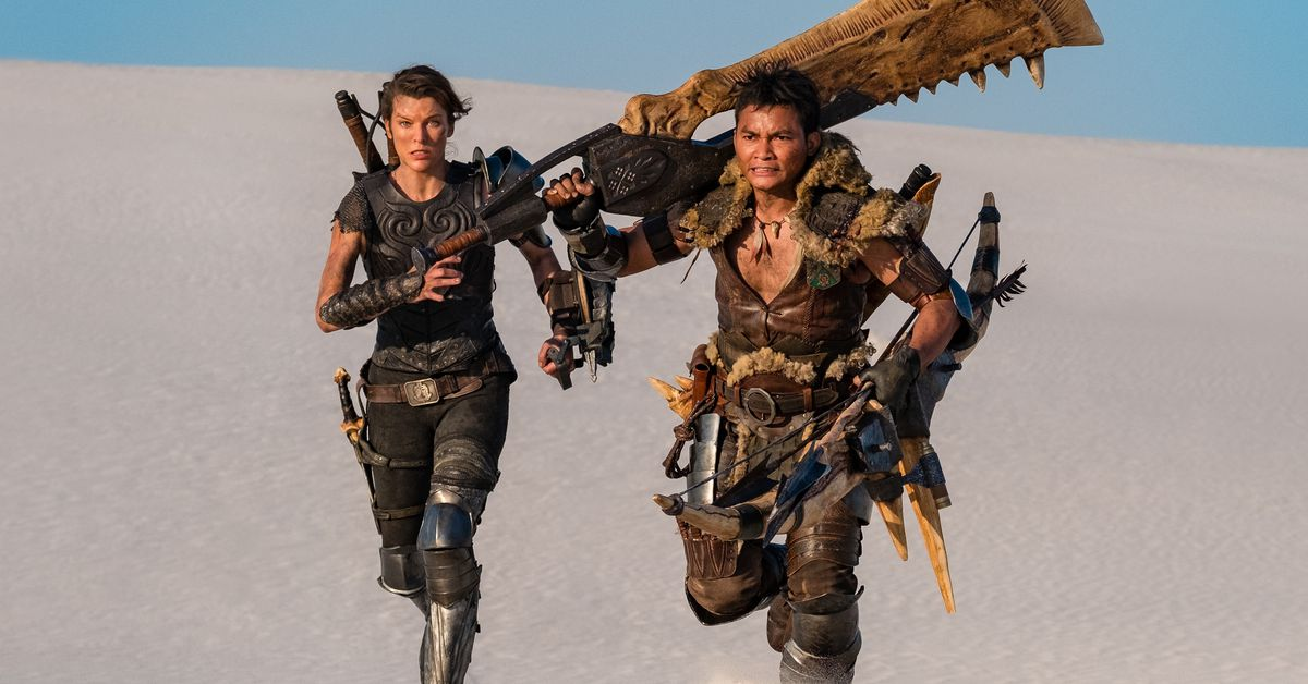 Your first real look at the Monster Hunter movie is 13 seconds of surprised soldiers with guns