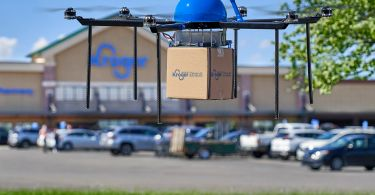 Kroger begins testing drone deliveries for baby products and s'mores
