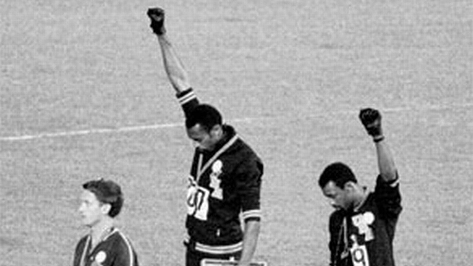 """Olympian John Carlos on protests: """"If you're famous and"""