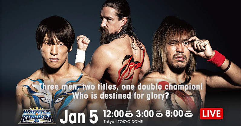 Wrestle Kingdom 15 night two results: Switchblade challenges!