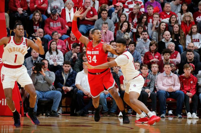 Image result for Indiana Hoosiers vs Ohio State Buckeyes Live NCAA Men's College Basketball