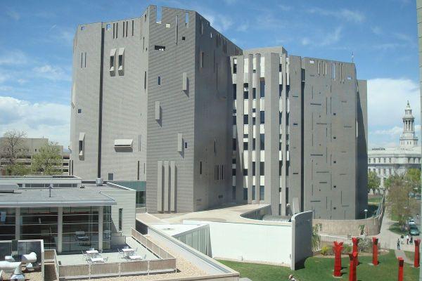 Denver Art Museum Gio Ponti' U. Building