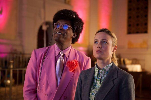 Brie Larson & Samuel L. Jackson in Unicorn Store Netflix recensie