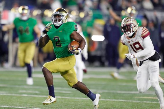 Notre Dame Freezes Florida State Out For A 42-13 Win - One Foot Down