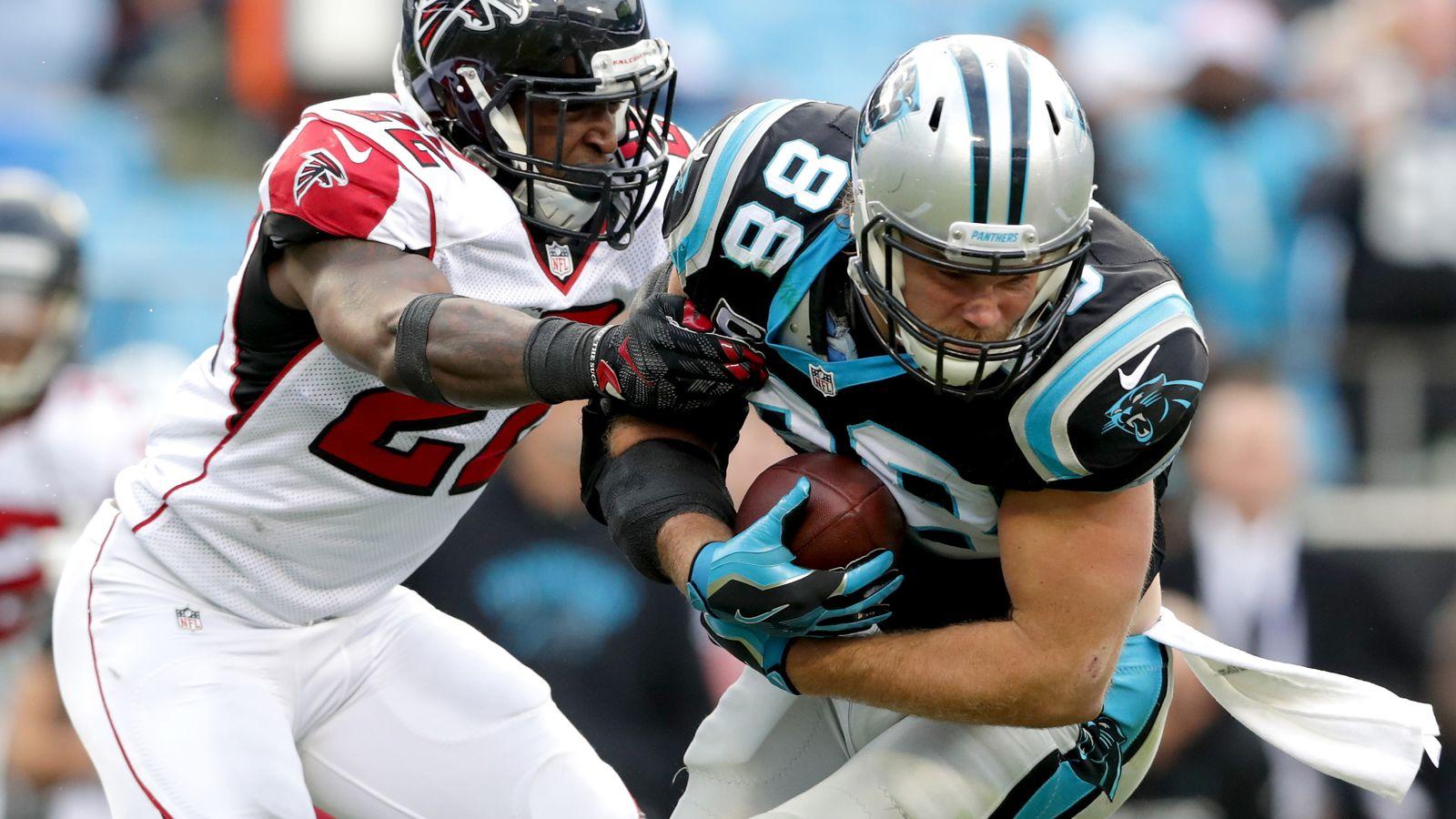 Greg Olsen injury update Panthers TE questionable vs