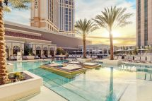 Revamped Pool Venetian - Eater Vegas
