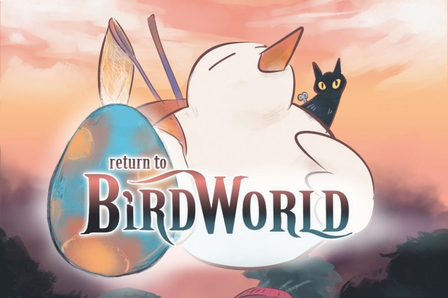 Return to Bird World album cover art