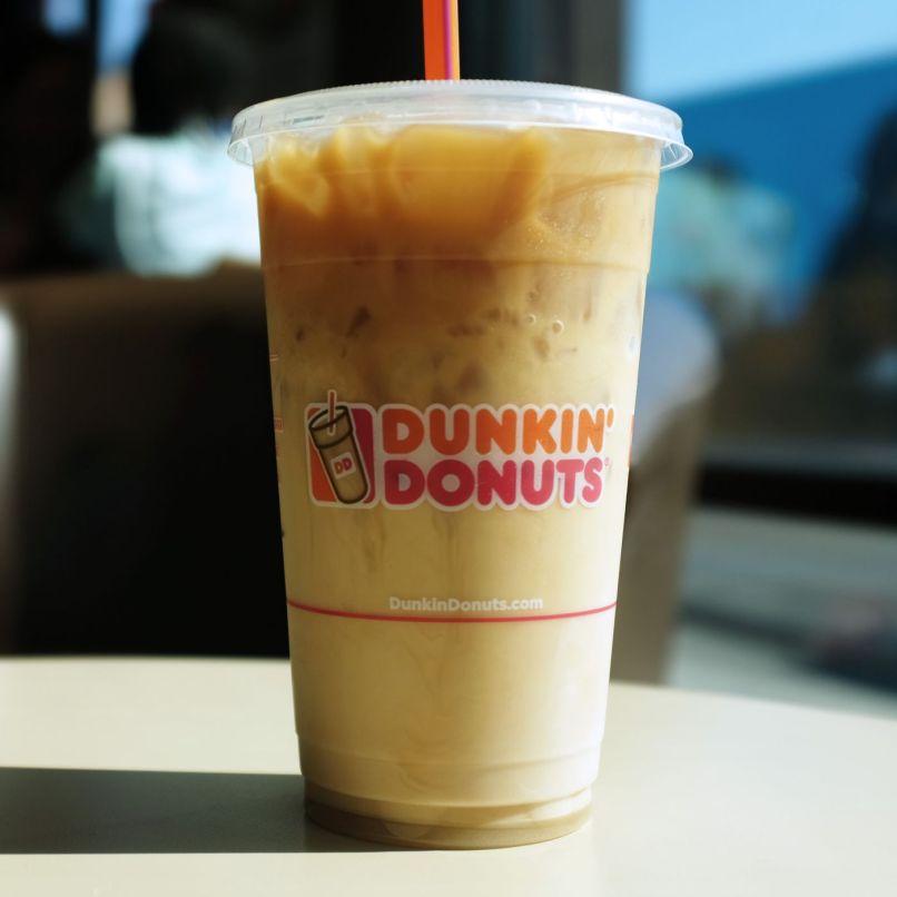 Dunkin Donuts Caramel Mocha Iced Latte Recipe