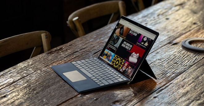 Microsoft's AI-powered 'Eye Contact' feature is finally coming to the Surface Pro X