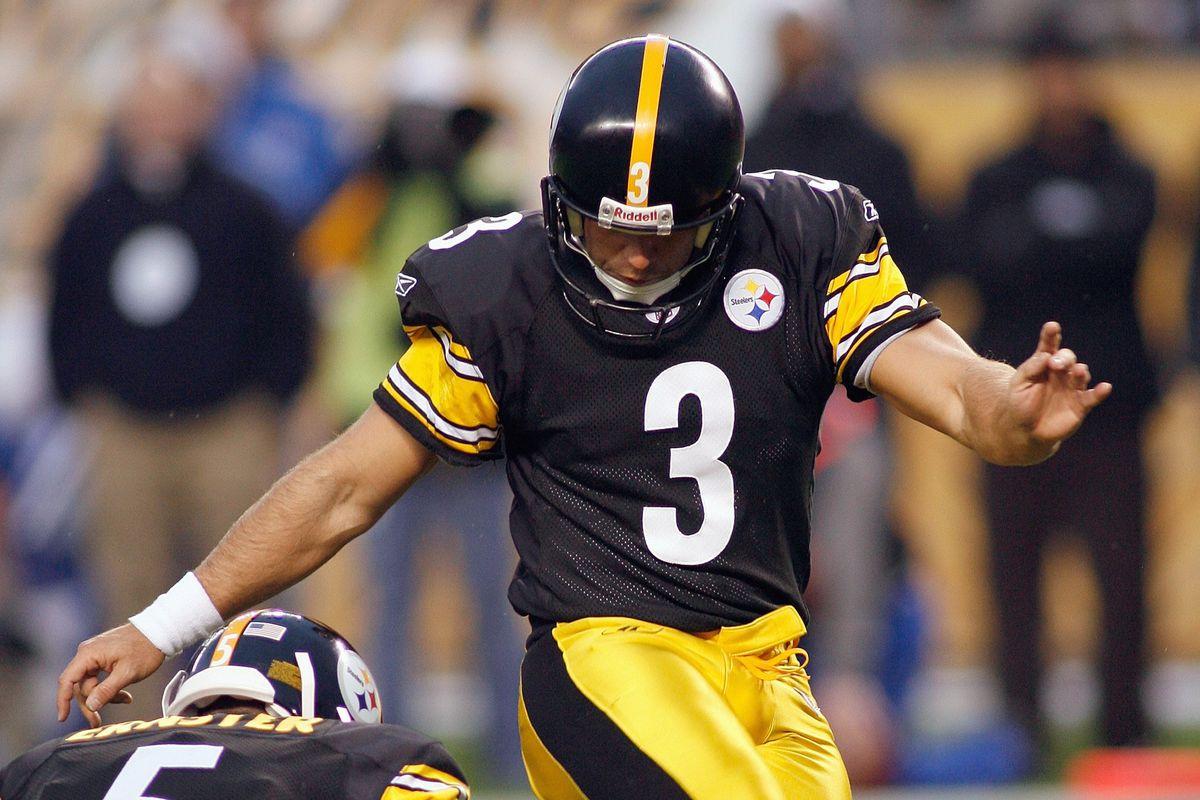 Former Pittsburgh Steelers placekicker Jeff Reed Ill
