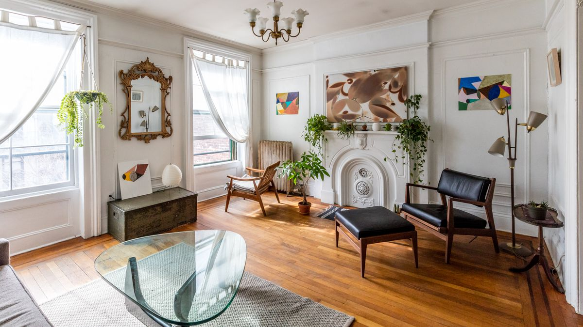 living room furniture brooklyn rooms 2018 midcentury modern and 19th-century charm collide in a ...